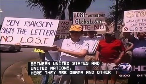 Video of Valdosta Tea Party - YouTube
