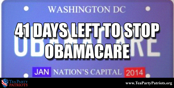 41 Days to Stop Obamacare Thumb