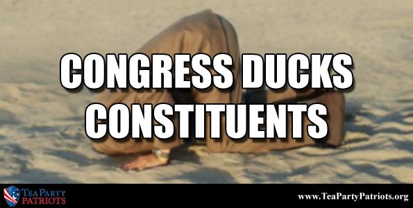 Congress Ducks Constituents Thumb
